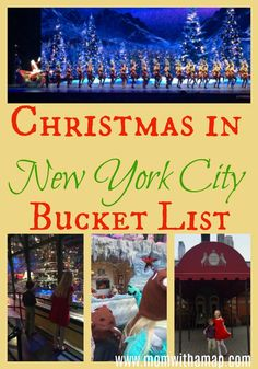 A New York City Christmas: List of Must-Do Magical Experiences Travel Bucket List:New York City is fabulous. And easily one of my favorite cities to visit. However, a New York City Christmas takes it to a whole new level. It's truly over-the-top magical. New York City Christmas, Christmas Travel, Christmas Vacation, Christmas 2019, New York City Vacation, New York City Travel, New York In December, New York Weihnachten, New York Bucket List