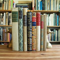 Forgotten Bookmarks: Friday Giveaway: Eight Decorative Classics
