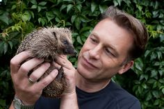 I love him because he's more than just a TV presenter; he's so knowledgeable, and isn't afraid to campaign for animals in political issues such as the badger cull. He's passionate and he cares! Animal Magic, Tv Presenters, Johnny Depp, I Love Him, Animal Photography, Pet Birds, Mammals, My Hero, Eye Candy