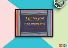 Beautiful Motif Gift Certificate Template - Get high quality, professionally designed template. Templates are available in Word & PDF Formats. Free Printable Gift Certificates, Certificate Templates, Business Gifts, Free Printables, First Love, Special Occasion, Best Gifts, Happy Birthday, Words