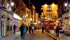 Dublin, Ireland is a must. Have to visit there and Campbell to get a feel for my ancestors' land :)