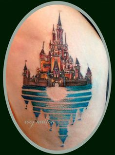 disney castle by sooj
