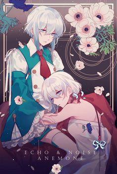 Echo & Noise | Pandora Hearts Pandora Hearts, Pandora Bracelets, Pandora Jewelry, Heart Echo, Good Manga, Vanitas, Anime Art, Pokemon, Drawings