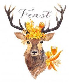 deer-printable