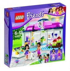 LEGO Friends - Salon dla zwierząt w Heartlake #lego #friends