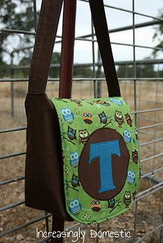 toddler bag- modification and link to pattern
