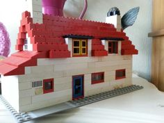 Back of my house in lego
