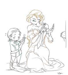 Frigga taught Loki more than just magic...