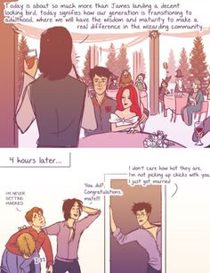 The Marauders - James and Lily´s wedding by julvett