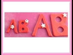 Tutorial perfette lettere alfabeto in pdz senza stampo - How to make per...