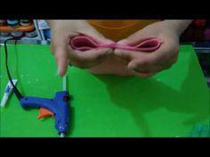 beauty in gomma crepla, portatrucchi in fommy, pochette, astuccio portacolori, idea regalo rapida - YouTube