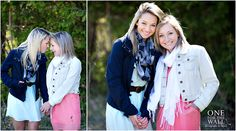 senior girl photography posing ideas #photography {best friend senior session idea} | One For The Wall Photography
