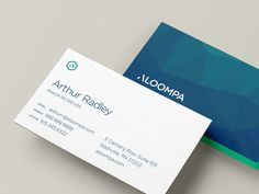 Working on some layouts for Aloompa business cards. This is my favorite so far.