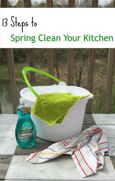 Sweet Parrish Place: 13 Steps to Spring Clean Your Kitchen
