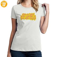 Life Is Hard Even Harder If You Are Stupid XL Damen T-Shirt (*Partner-Link)