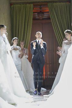 Abiti da sposa Enzo Miccio: eleganza e sobrietà dal gusto retrò  abiti da sposa Enzo Miccio 2015 6