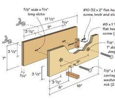 Finger Joint Jig Plans | Box Joint Jig Plans