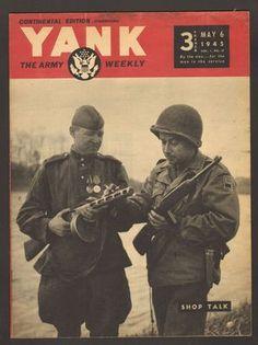 YANK The Army Weekly Magazine May 6 1945 Shop Talk Soldiers  WWII Photos  - Found on Lookza.com-  www.advintageplus.com