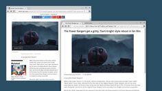 Google wants to give your peepers a break. Google Chromium Evangelist Francois Beaufort laid out early versions of Reader Mode for Chrome desktop and mob