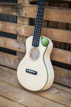Moderno ukulele with bevel cutaway by Antica Ukuleleria. Made in Italy Cool Ukulele, Ukulele Chords, Guitar Inlay, Music Stuff, Bass, Music Instruments, Acoustic Guitars, Cutaway, Electric Guitars