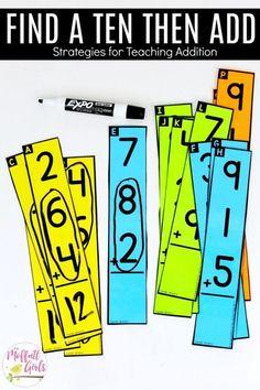 First Grade Math: Addition #mathgamesfor1stgrade #Mathematics