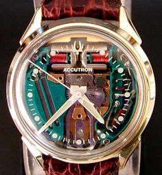 Accutron Spaceview Watch by Bulova - mid 60's?