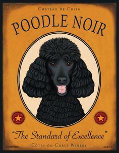 The Poodle Dog. You go dog haha Poodle Noir Zoo 2, Dog Lover Gifts, Dog Lovers, Pitbull, Poodle Cuts, Oui Oui, Dog Tattoos, Dog Art, Cute Dogs