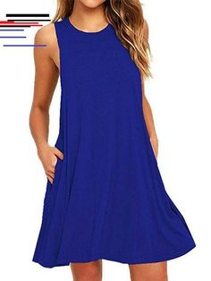 Sakkas Everyday Essentials Caftan Tank Dress / Cover Up Straight Dress, Summer Outfits Women, Dress Brands, Casual Dresses, Mini Dresses, Shift Dresses, Women's Casual, Summer Dresses, Dress Skirt
