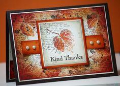 Beautiful autumn card