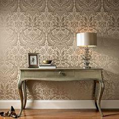 Graham & Brown Taupe Desire wallpaper | Debenhams