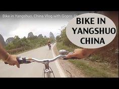 Bike in Yangshuo, China Vlog with Gopro. (cap 12)