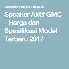 Speaker Gmc Vs Dazumba on