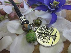 Bodhi Tree World Tree Necklace by Soareyou on Etsy, $17.99