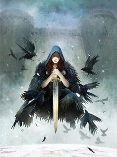 The Morrígan is a goddess of battle, strife, and sovereignty. She sometimes appears in the form of a crow, flying above the warriors, and in the Ulster cycle she also takes the form of an eel, a wolf and a cow. She is generally considered a war deity comparable with the Germanic Valkyries, although her association with a cow may also suggest a role connected with wealth and the land.