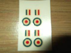 Dinky 734 RAF Roundels/Stripes Transfers/Decals Lesney 73a Pressure Refueller - http://www.matchbox-lesney.com/47998