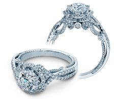 Just released! INSIGNIA-7087R {NEW} engagement ring from The Insignia Collection of diamond engagement rings by Verragio.