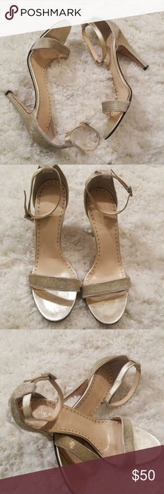 9db31d9b69d1 Kate Spade New York Gold Animal Hair Heel Size 7 Gorgeous Gold Animal Hair  Heel with
