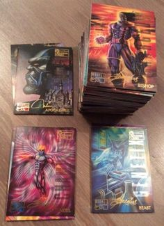Marvel #masterpieces 1995 base set of 151 #trading #cards - marvel,  View more on the LINK: 	http://www.zeppy.io/product/gb/2/231731741945/