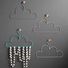 cloud design home accessories, coat hangers