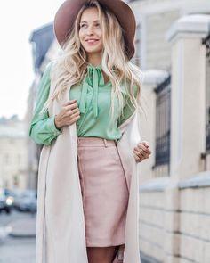 """2,066 Likes, 6 Comments - T-Skirt - We Do Skirts! (@t.skirt) on Instagram: """"Ещё один очень стильный и яркий деловой образ на каждый день, который легко интегрируется под…"""""""
