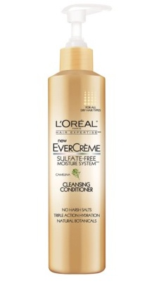 L'oreal Evercreme Cleansing Conditioner - this is GREAT, works just like WEN product and cost a lot less! If you have dry or coarse hair this works wonders!