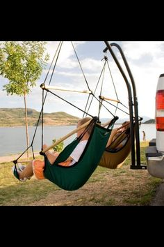 Get These Seat Hammocks For Car Camping