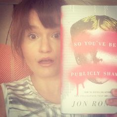 """Jon Ronson comes to the realization that online, we are a vicious lot: """"I suppose when shamings are delivered like remotely administered drone strikes nobody needs to think about how ferocious our collective power might be. The snowflake never needs to feel responsible for the avalanche."""" So You've Been Publicly Shamed reviewed on Kalireads.com."""
