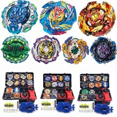 ZXZ Beyblade Arena Metal Fusion No Lanceur Bayblade Bleyblade Burst With Launcher Kids Bey Blade Blades Toys For Children All Toys, Kids Toys, Beyblade Toys, Gold Armor, New Uses, Toy Sale, Action Figures, Pokemon, Spinning