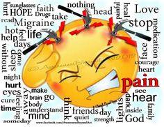 Chronic Migraine Smiley Picture