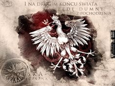 "Polska i Orzeł ."" and at the other end of the world - I will be proud of polish roots"" Historical Monuments, Fiction, My Heritage, Warsaw, Coat Of Arms, Tattoo Inspiration, Eagles, Lion Sculpture, Tumblr"