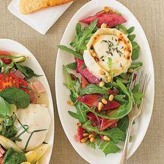 Ach ihr Küchengötter, danke für den Rezept-Segen des herzhaften Rhabarber-Rucola-Salats! #Rhabarber #RhabarberRezept #suess #herzhaft