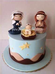 The+Nativity+Scene+Cake+-+Cake+by+Pasticcino+Mio