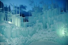 go here one day... midway ice castles
