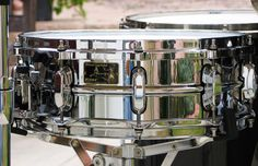 Stewart Copeland's (The Police) Tama signature series snare drum.